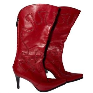 Sergio Rossi Italian Leather Knee High Boots